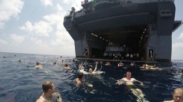 Американские военные в Аденском заливе. Архивное фото