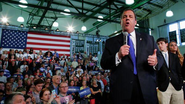 Губернатор от штата Нью-Джерси Крис Кристи. Архивное фото.