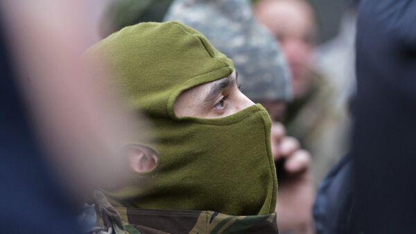 Боец у Минобороны Украины