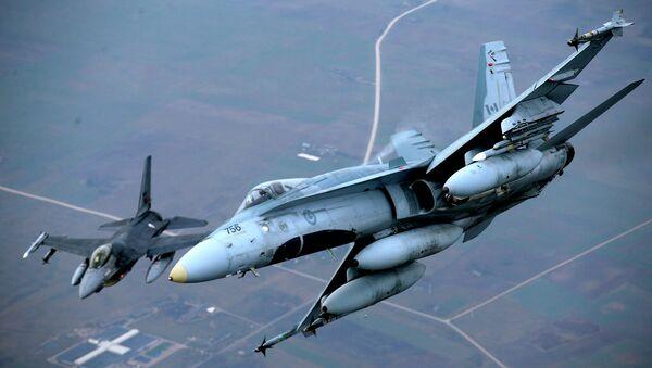 Самолеты НАТО в Литве. Архивное фото