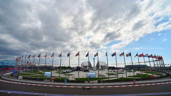 Трасса российского этапа чемпионата мира по кольцевым автогонкам в классе Формула-1