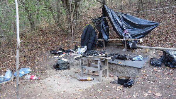 Бандитский лагерь. Ингушетия