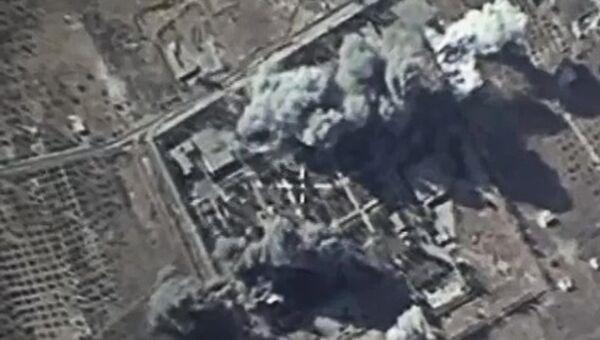 Российская боевая авиация нанесла удары по лагерю подготовки боевиков Исламского государства в провинции Идлиб