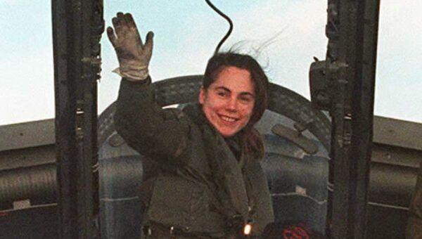 Джо Салтер – первая британка, которая начала пилотировать реактивные самолеты Королевских ВВС