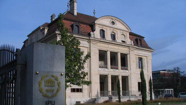 Здание Межпарламентского союза в Женеве. Архивное фото