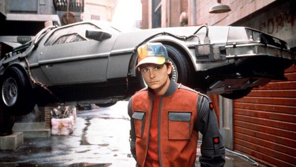 Кадр из фильма Назад в будущее 2
