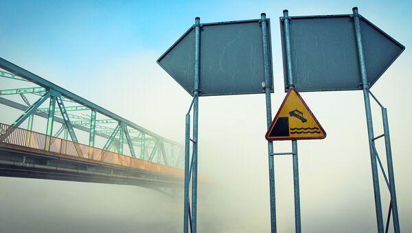 Мост через реку. Архивное фото