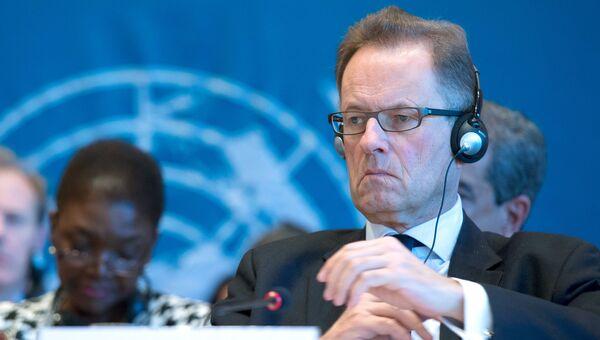 Генеральный директор женевского отделения ООН Майкл Меллер. Архивное фото