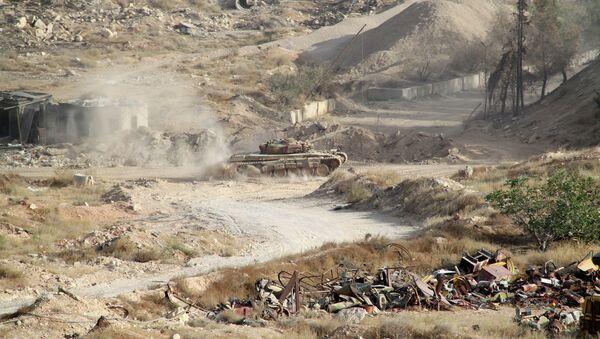 Спецоперация сирийской армии в городе Хараста. Архивное фото