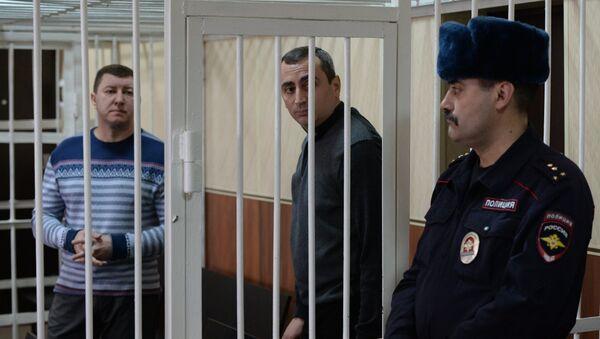 Бывший заместитель начальника регионального управления ФСКН Андрей Андреев и бывший вице-мэр города Новосибирска Александр Солодкин