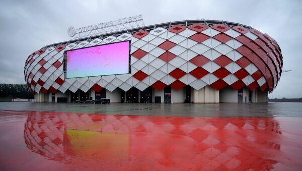 Стадион футбольного клуба Спартак Открытие Арена. Архивное фото