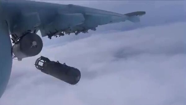 Самолеты российских Воздушно-космических сил в Сирии. Архивное фото