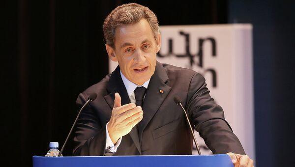 Экс-президент Франции Николя Саркози. Архивное фото