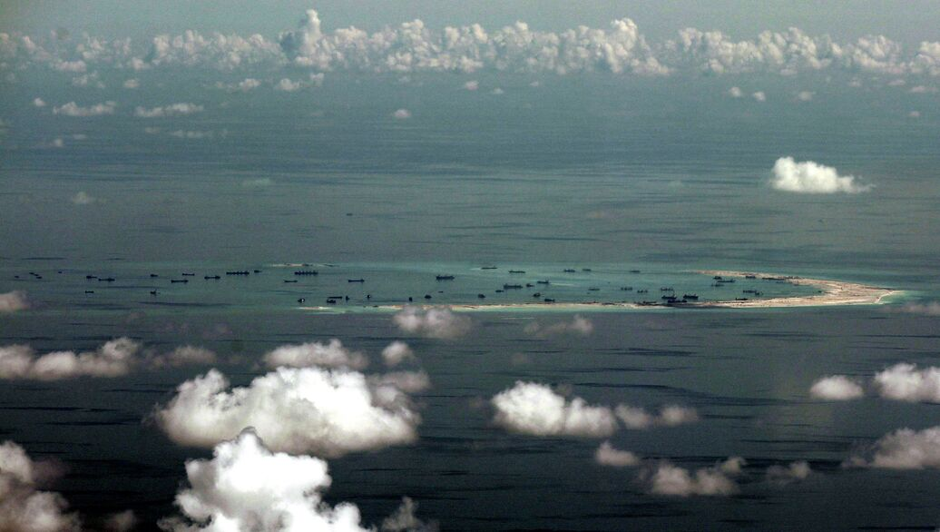 Реакция китая на спорные острова