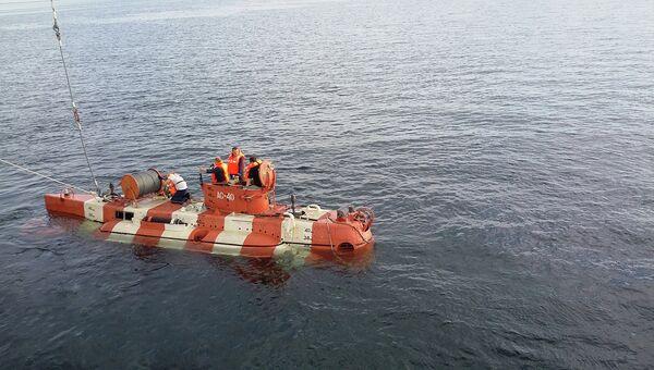 Уникальный глубоководный поисково-спасательный аппарат Бестер-1. Архивное фото