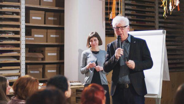 Британский эксперт по SROI Джереми Николс на семинаре об эффективности соцпрограмм в Москве