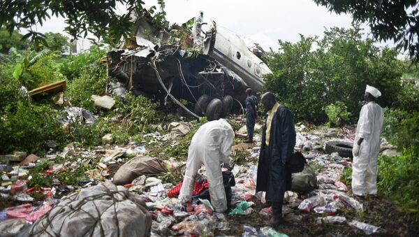 Крушение Ан-12 в Южном Судане. Архивное фото