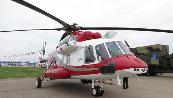 Летные испытания второго опытного образца вертолета Ми-171А2