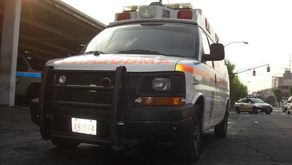 Автомобиль скорой помощи, Мексика. Архивное фото
