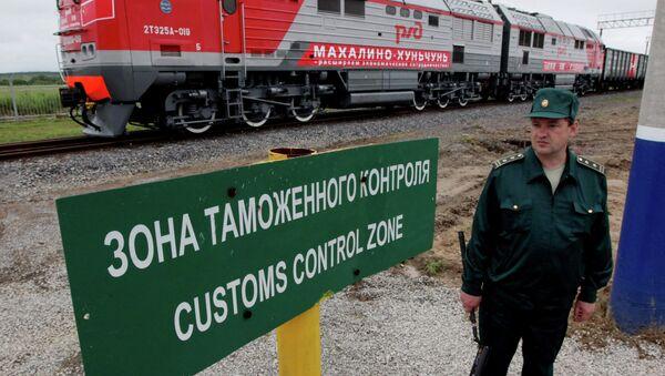 На границе России с Китаем. Архивное фото