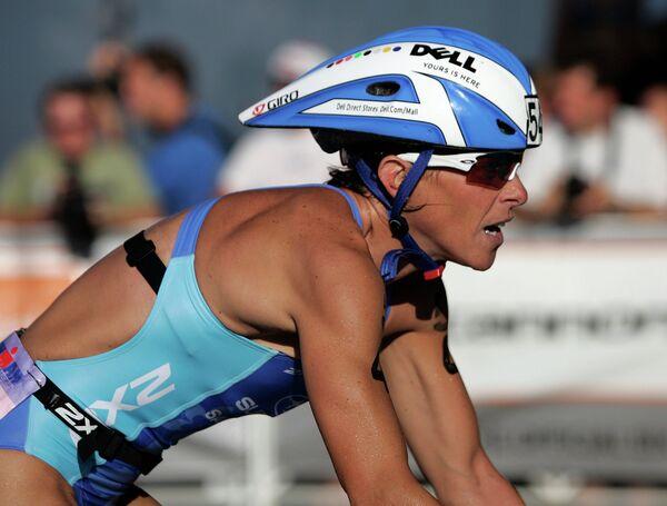 Канадская триатлонистка Лиза Бентли