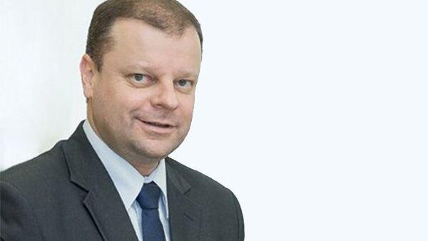 Глава МВД Литвы Саулюс Сквернялис