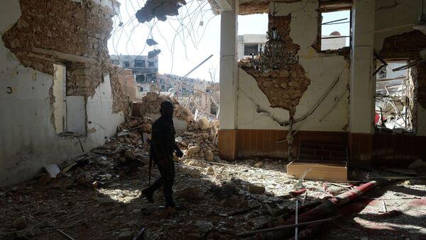 Боец Сирийской арабской армии (САА). Архивное фото