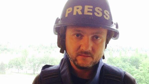 Корреспондент RT Роман Косарев