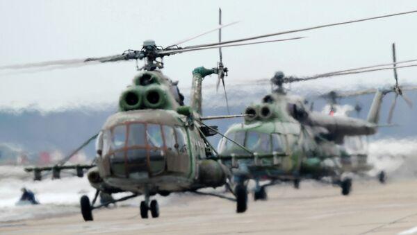 Вертолеты Ми-8МТВ. Архивное фото