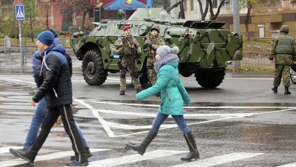 Усиление мер безопасности в Мариуполе
