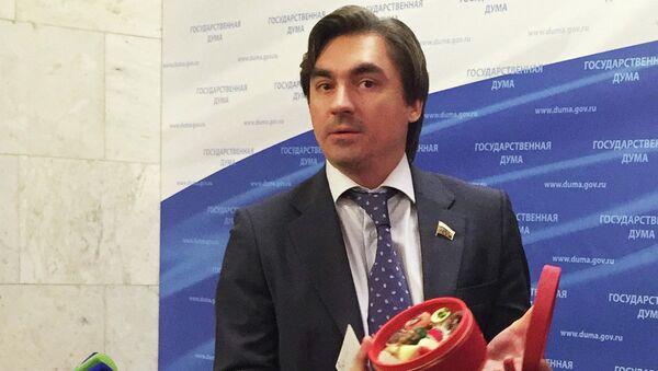 Депутат думской фракции ЛДПР Андрей Свинцов