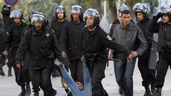 Полиция в тунисе. Архивное фото
