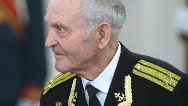 Участник штурма Рейстага весной 1945 года Николай Беляев. Архивное фото.