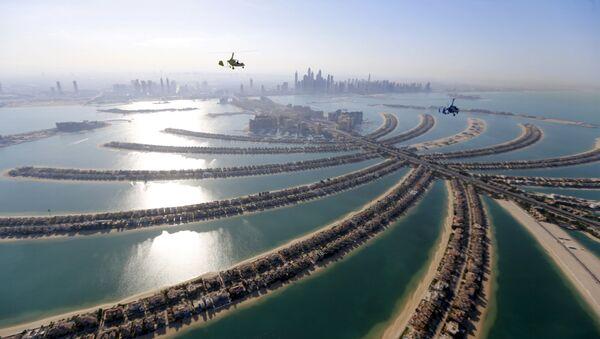 Виды Дубая с воздуха