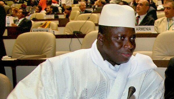 Президент Гамбии Яйя Джамме