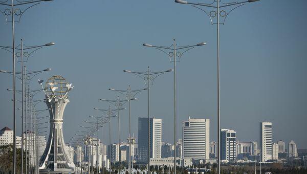 Ашхабад. Туркмения. Архивное фото