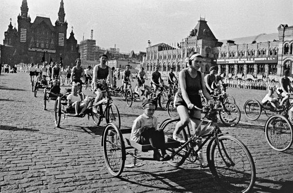 Физкультурный парад на Красной площади