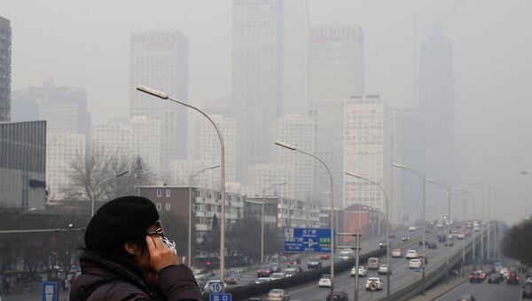 Смог в Пекине. Архивное фото.