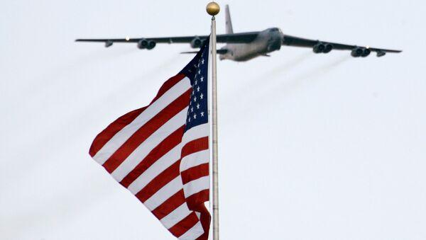 Американский стратегический бомбардировщик. Архивное фото
