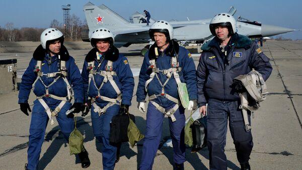 Авиаполк в Приморье получил три модернизированных самолета МиГ-31 БМ