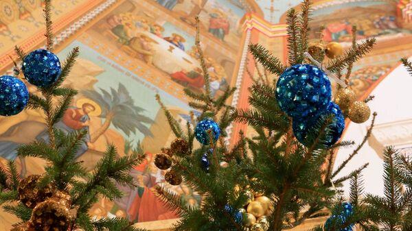 Рождественское богослужение. Архивное фото