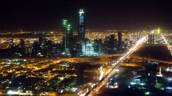 Вид города Эр-Рияд, Саудовская Аравия. Архивное фото