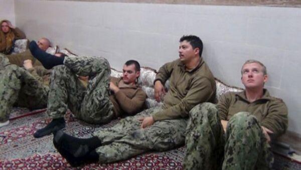 Американские моряки задержаные ВМС Ирана
