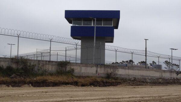 Тюрьма особого режима Альтиплано, где содержался наркобарон Коротышка . Архивное фото