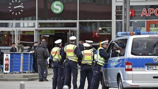 Полиция в городе Кёльн