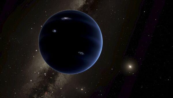 Так художник изобразил новую планету открытую учеными