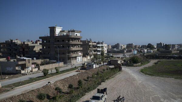 Город Камышли в провинции Эль-Хасаке на северо-востоке Сирии. Архивное фото