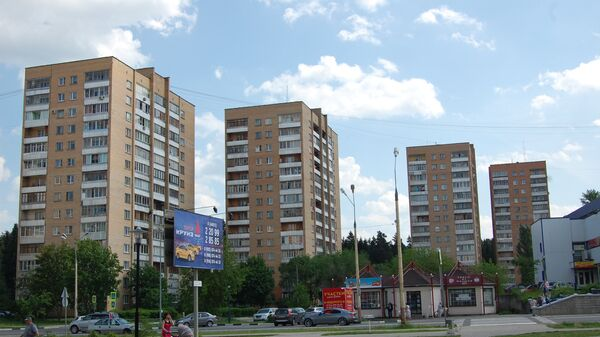 Башни Вулыха в Дубне, Московская область. Архивное фото