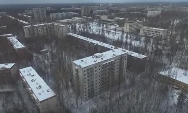 Зима в мертвом городе: Припять