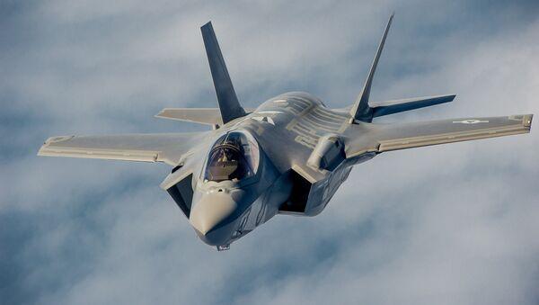 Американский истребитель Lockheed Martin F-35. Архивное фото
